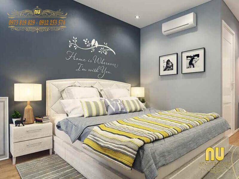 Trang trí phòng ngủ với các tông màu tươi sáng