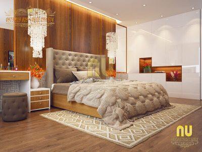 phòng ngủ cho vợ chồng mới cưới