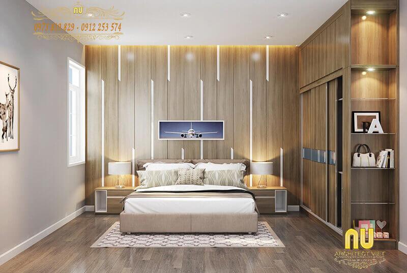 trang trí cho phòng ngủ tạo sự hài hòa, cân đối