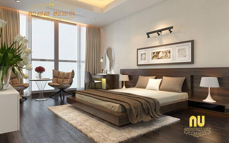 gương tròn trong phòng ngủ mang lại nhiều nguồn năng lượng tốt cho sức khỏe vợ chồng