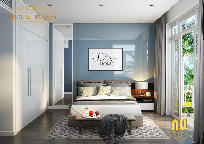 màu sắc hợp lý cho phòng ngủ vợ chồng mới cưới