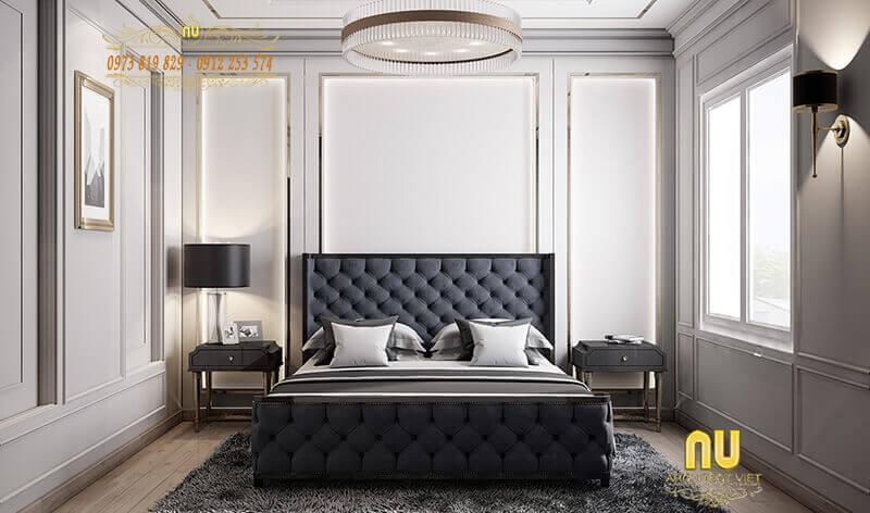 ánh sáng hợp lý trong phòng ngủ