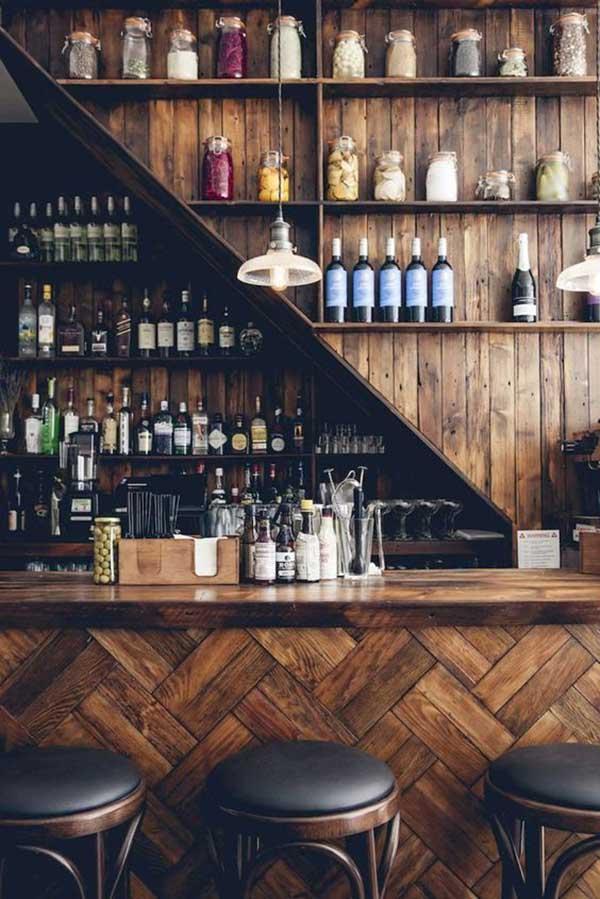 Mẫu thiết kế quầy bar tại nhà đẹp