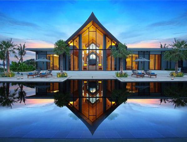 Mẫu biệt thự đẹp 1 tầng phong cách hiện đại