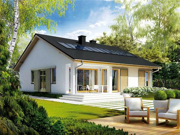 Thiết kế mẫu biệt thự đẹp có sân vườn rộng