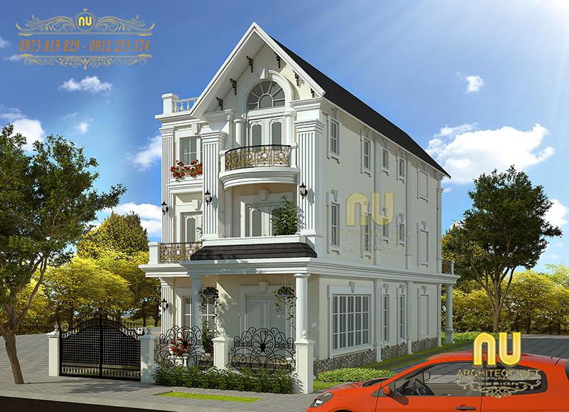 mẫu thiết kế biệt thự tại Hà Nội 1