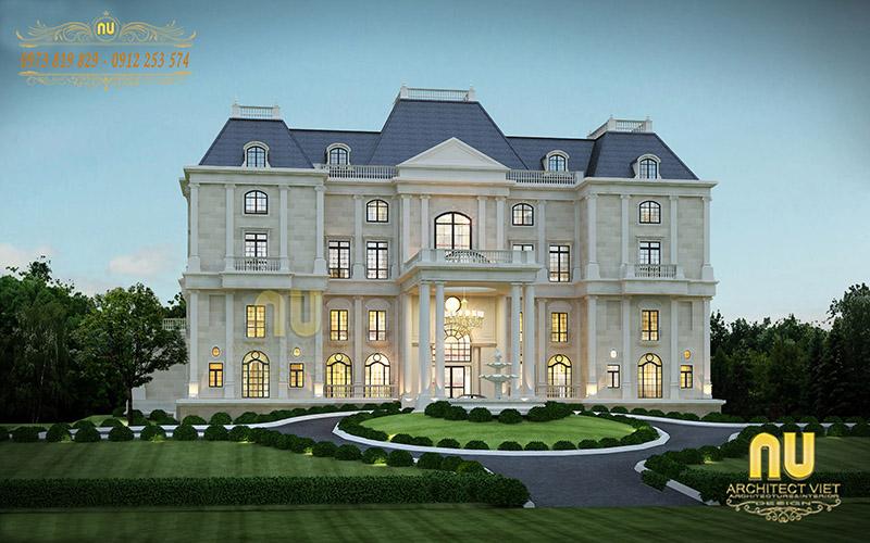 Biệt thự đẹp với phong cách tân cổ điển