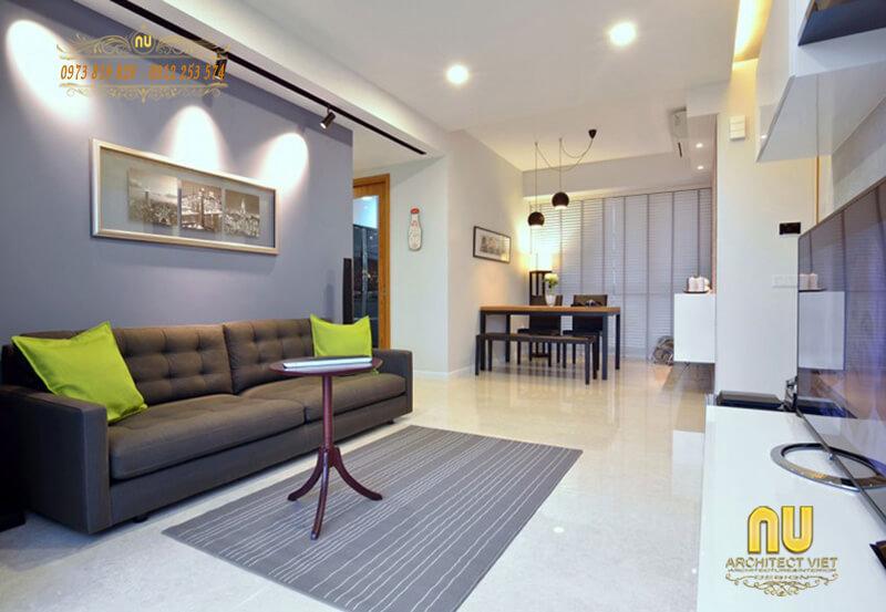 mẫu Phòng khách nổi bật và hút mắt ngay từ cái nhìn đầu tiên