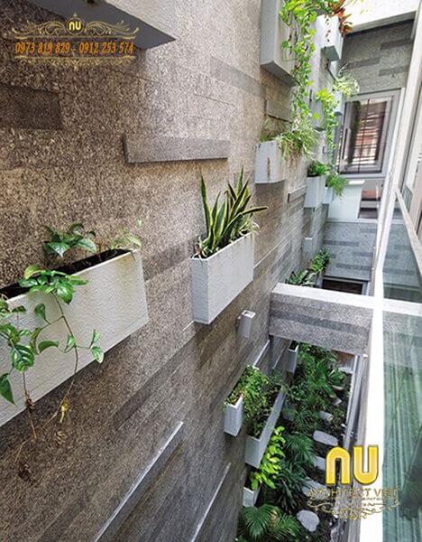 vườn đứng độc đáo cho nhà phố