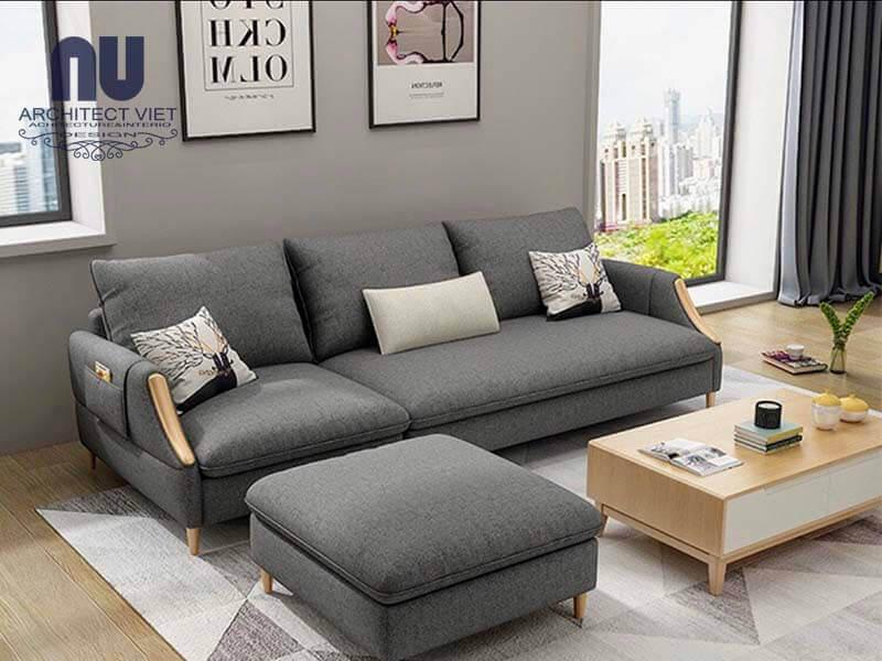 phòng khách hiện đại và sang tọng với ghế sofa