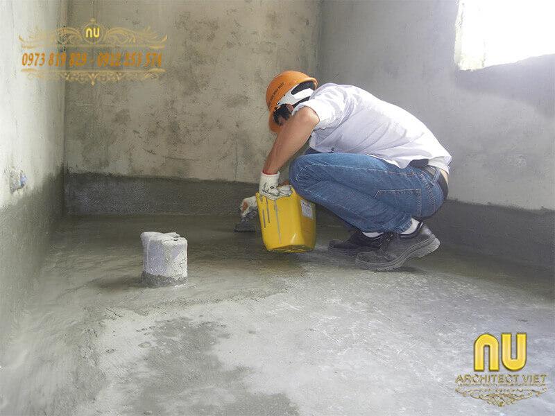 chống thấm cho tường cũ hiệu quả