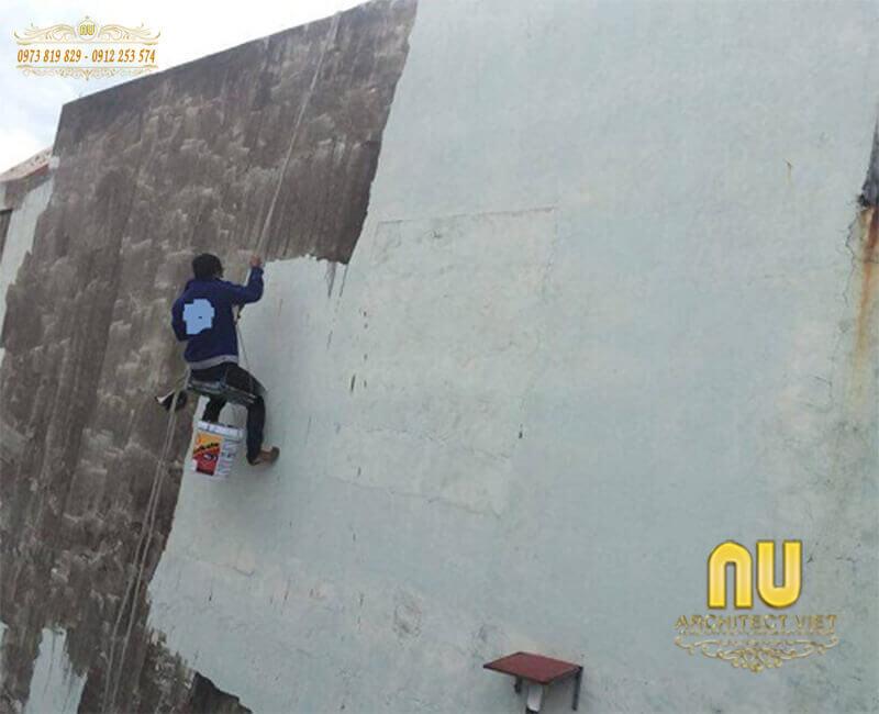 cách chống thấm cho tường cũ