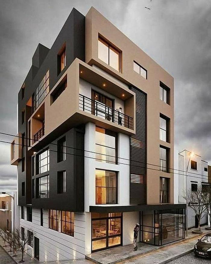 mẫu biệt thự 5 tầng đẹp