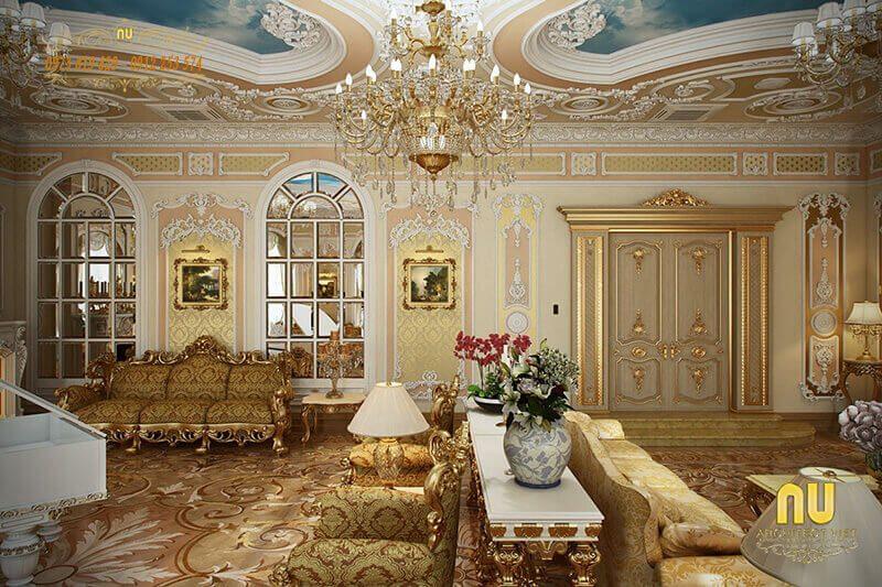 vẻ đẹp của mẫu thiết kế nội thất biệt thự