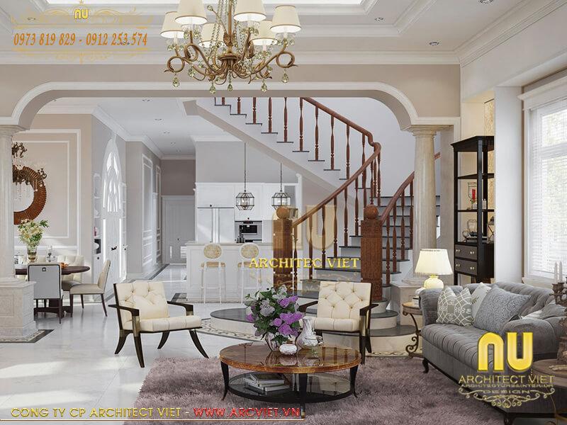 tư vấn thiết kế nội thất biệt thự đẹp