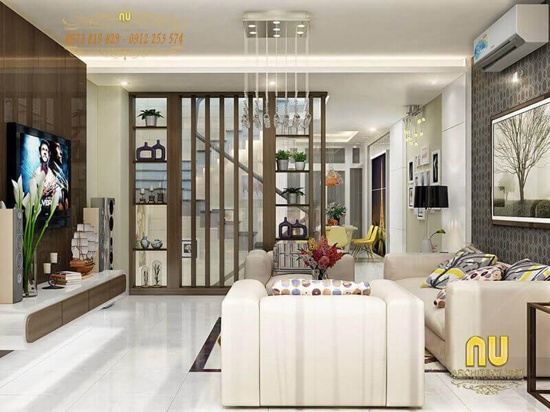 thiết kế nội thất nhà phố với những điểm nhấn ấn tượng