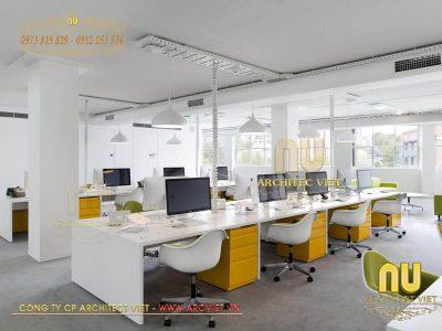 Thiết kế văn phòng với nhiều ý tưởng sáng tạo