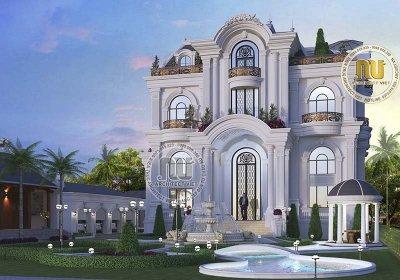 Mẫu nhà kiến trúc Pháp