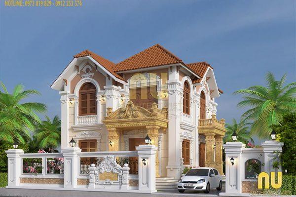 5 mẫu thiết kế biệt thự 2 tầng đẹp nhất năm 2019 – Architec Việt