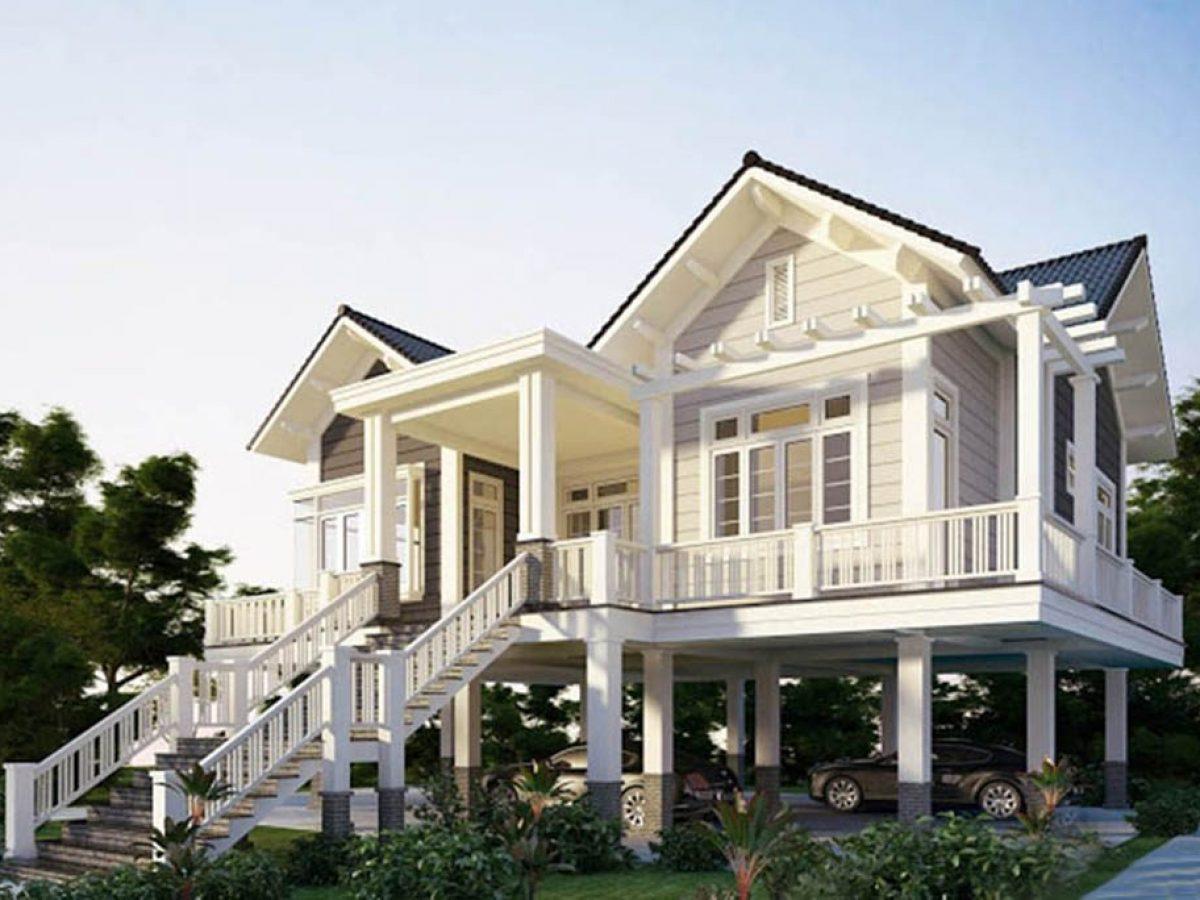 Xem mẫu nhà sàn bê tông đẹp và chi phí xây dựng là bao nhiêu | Arc Việt