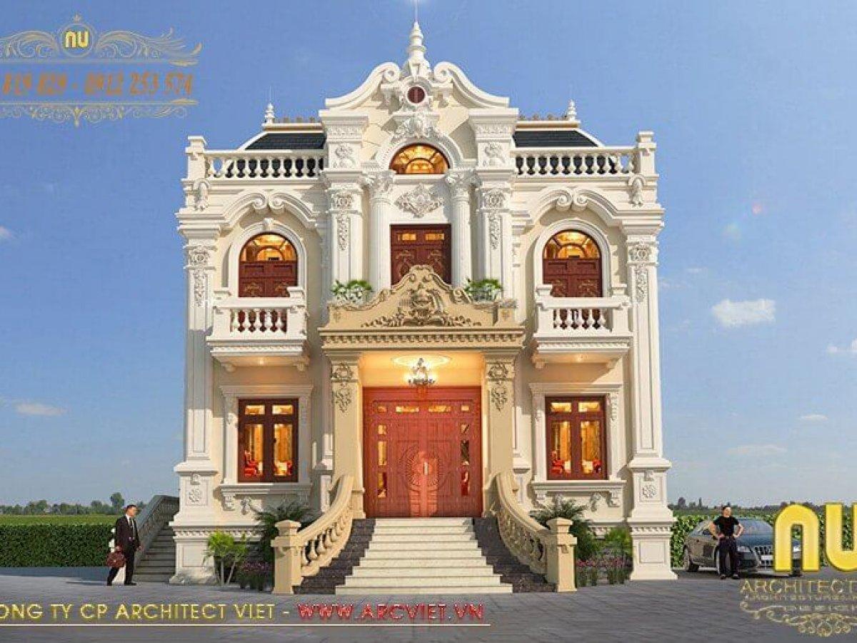 Biệt thự 2 tầng cổ điển mang vẻ đẹp hoàn mỹ, sở hữu không gian sống đẳng cấp