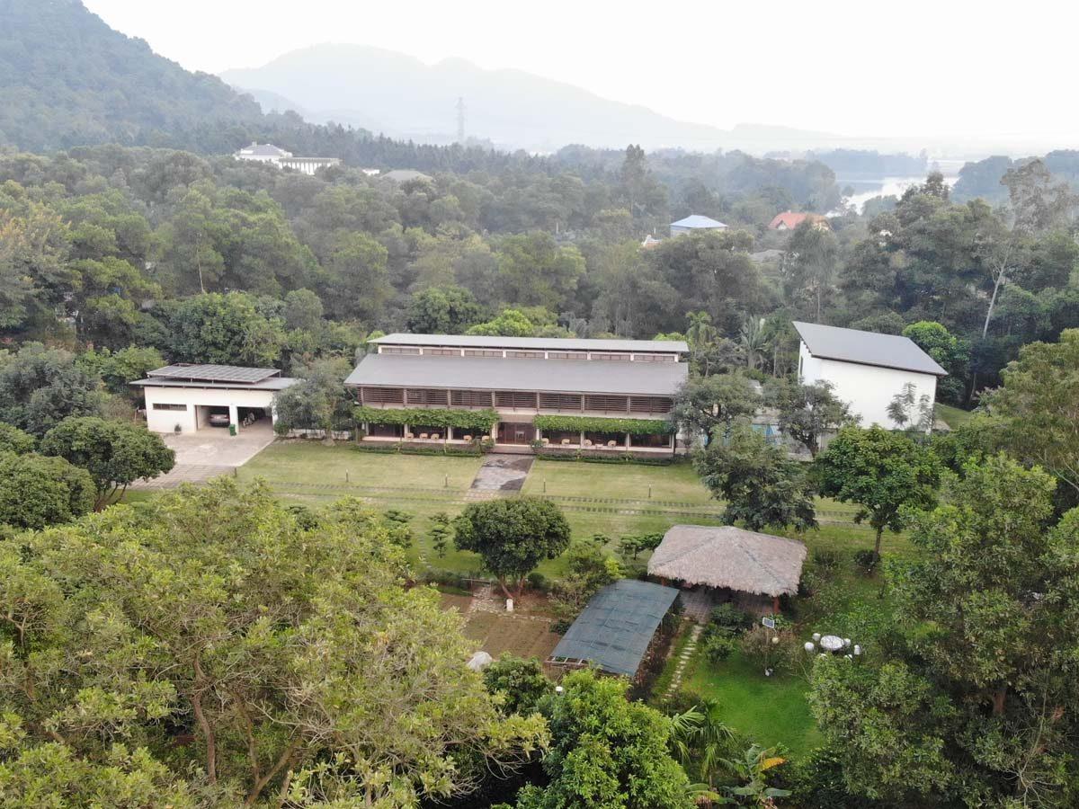 Biệt thự gia đình Mỹ Linh – Biệt thự nhà vườn triệu đô đáng mơ ước