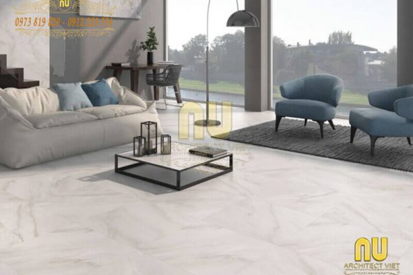Bí quyết chọn gạch lát nền phòng khách sang – xịn – đẹp