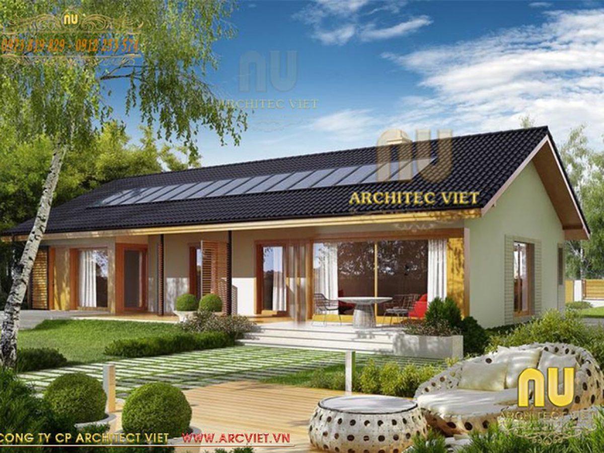 Mẫu nhà cấp 4 nông thôn kiểu hiện đại nổi bật với vẻ đẹp giản dị, ấm áp