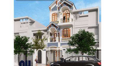 Ấn tượng với thiết kế nhà phố 3 tầng mặt tiền 6m sang trọng tại Nam Định
