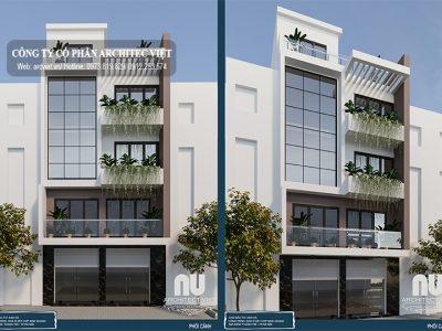 Chiêm ngưỡng mẫu nhà ở 5 tầng kết hợp kinh doanh