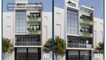 Chiêm ngưỡng mẫu nhà ở 5 tầng kết hợp kinh doanh hiện đại sang trọng