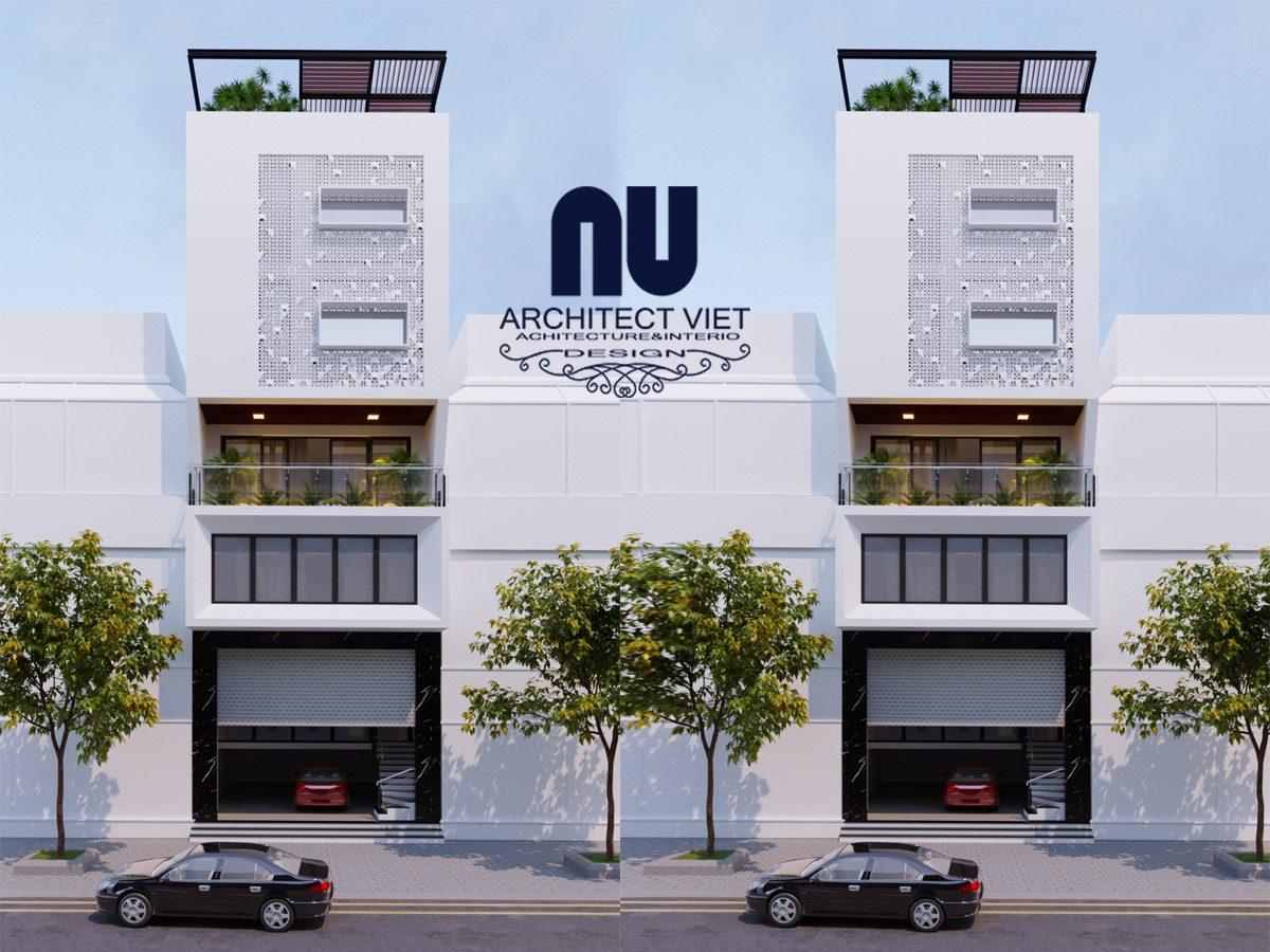 Thiết kế nhà ở 6 tầng mặt tiền 7m kết hợp kinh doanh