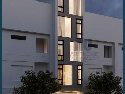 Tham khảo đơn giá thi công nhà ở kết hợp kinh doanh 5 tầng 3,9×16,5m