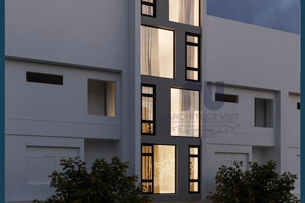 Đơn giá thi công nhà ở kết hợp kinh doanh 5 tầng