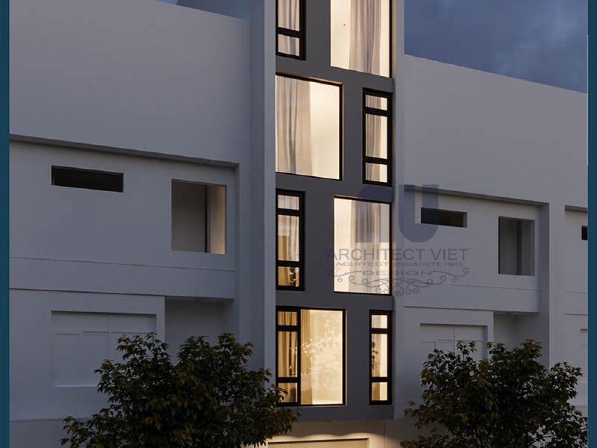 đơn giá thi công trọn gói nhà ở kết hợp kinh doanh 5 tầng