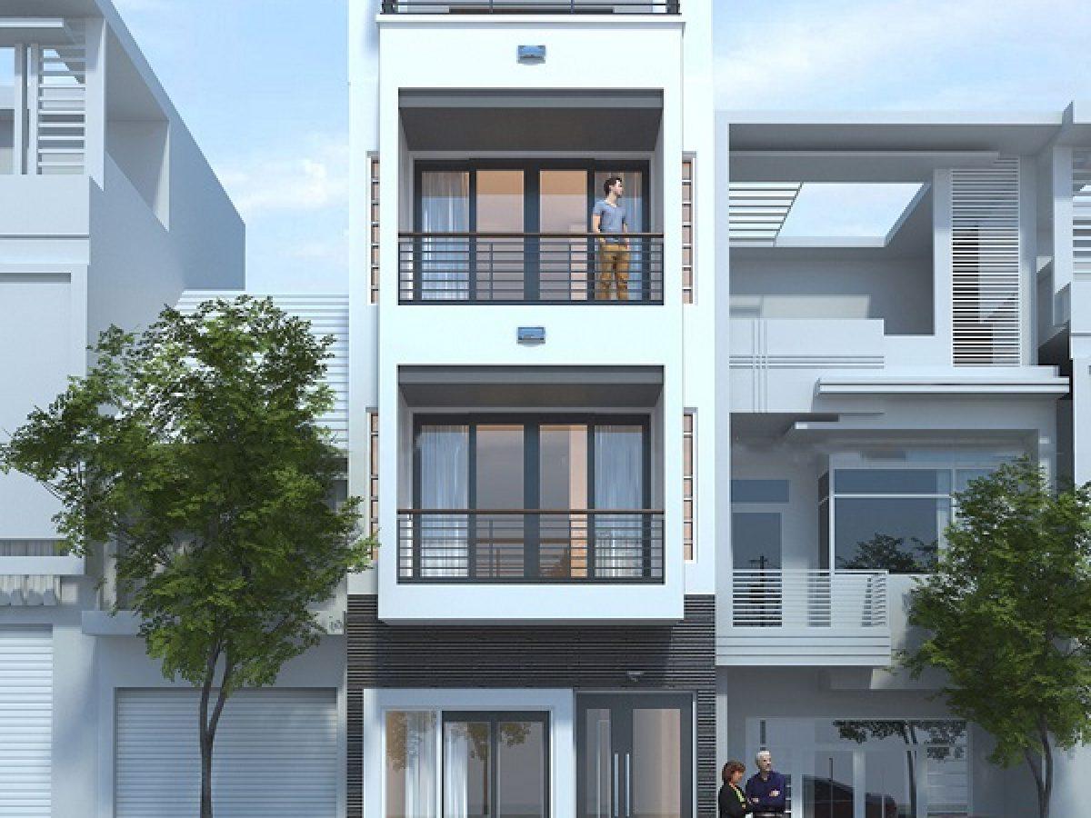 Mẫu nhà phố 3 tầng mặt tiền 5m đẹp không thể bỏ qua tại Arc Việt