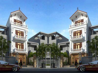 Giới thiệu thiết kế nhà phố 4 tầng mặt tiền 6m