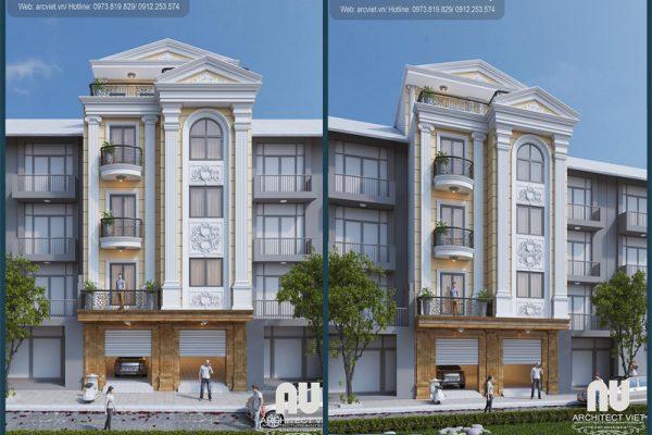 Nhà phố 5 tầng tân cổ điển vẻ đẹp hoàn mỹ được thiết kế tại Arc Việt