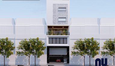 Hà Nội nổi bật với thiết kế nhà ở 6 tầng mặt tiền 7m kết hợp kinh doanh sang trọng