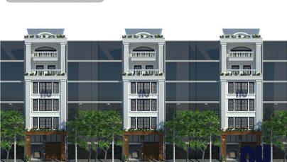 Ấn tượng nhà phố 6 tầng 8×14,5m tân cổ điển kết hợp kinh doanh