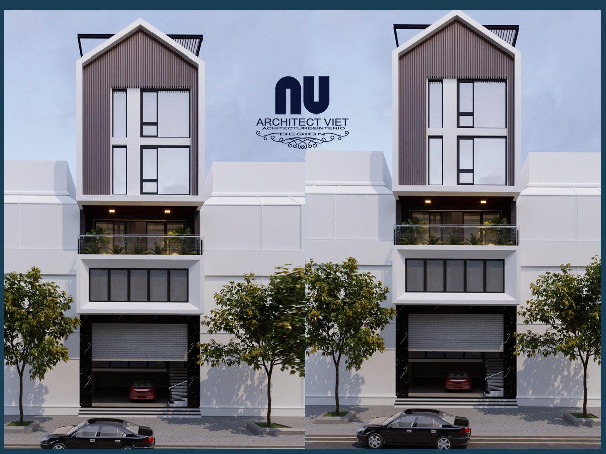 Thiết kế nhà phố 6 tầng mặt tiền 7m kết hợp kinh doanh