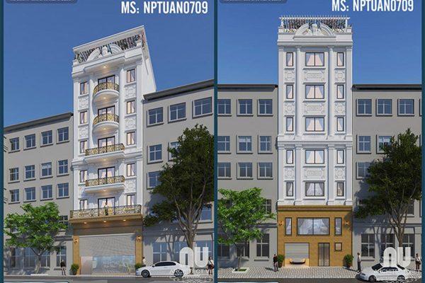 Ngắm nhìn mẫu nhà ở kiêm kinh doanh 6 tầng 120m2 sang trọng ngay tại Hà Nội