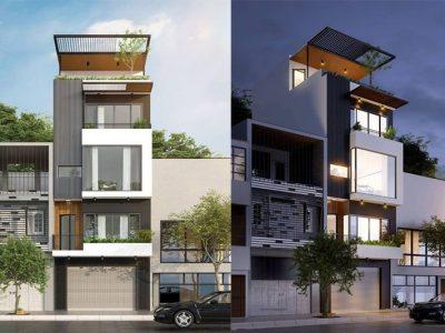 Tham khảo ngay 5 mẫu nhà phố mặt tiền 5m