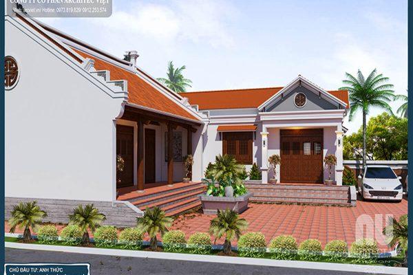 Thiết kế nội thất nhà ở kết hợp nhà thờ họ truyền thống | Architec Việt