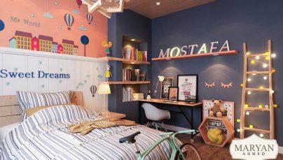 Những mẫu thiết kế nội thất phòng ngủ đẹp dành cho trẻ