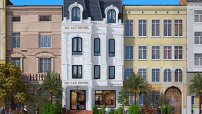 Những mẫu thiết kế khách sạn mini đẹp