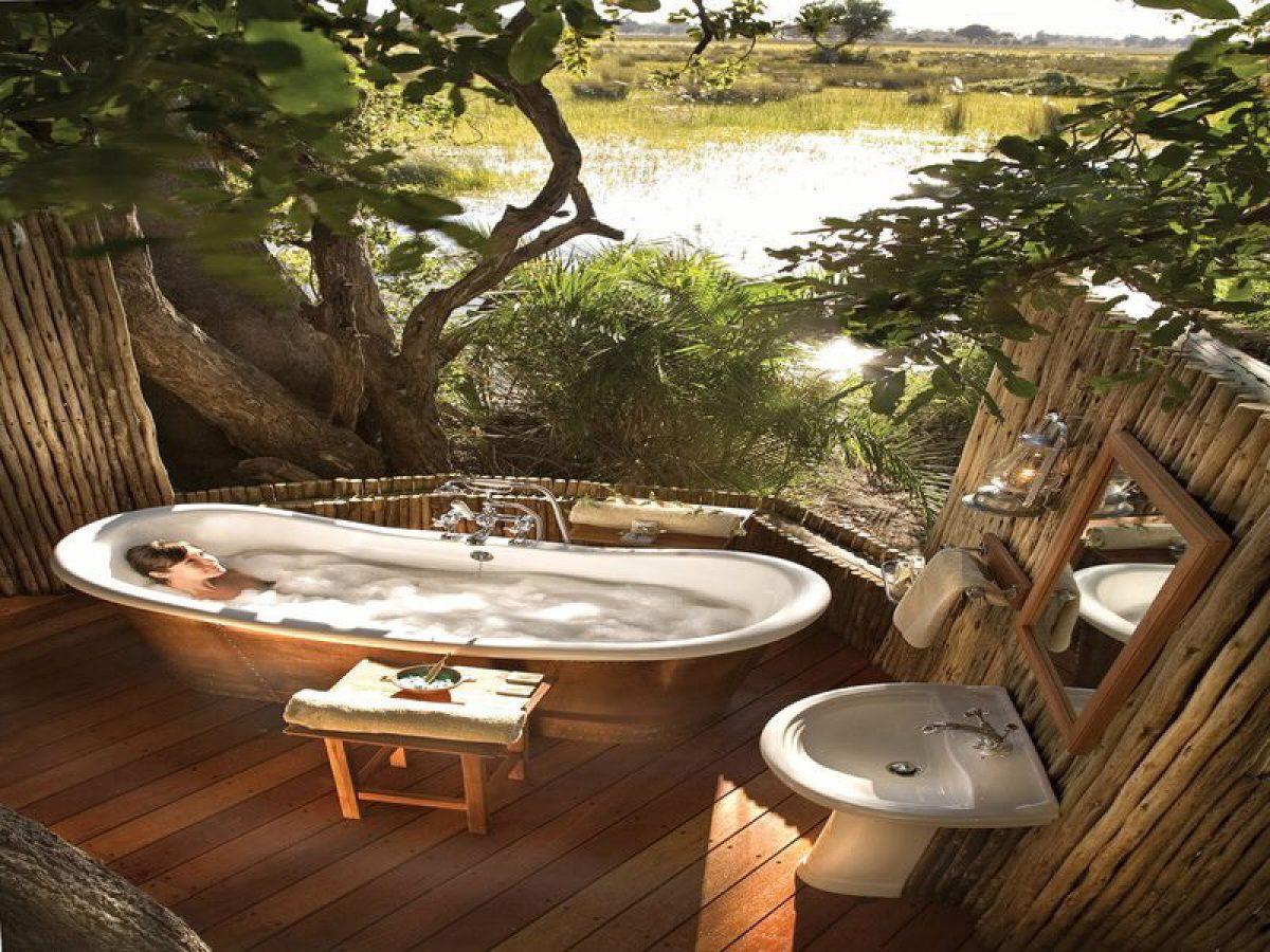 Phòng tắm thiên nhiên với thiết kế độc đáo, mới lạ tại Architec Việt
