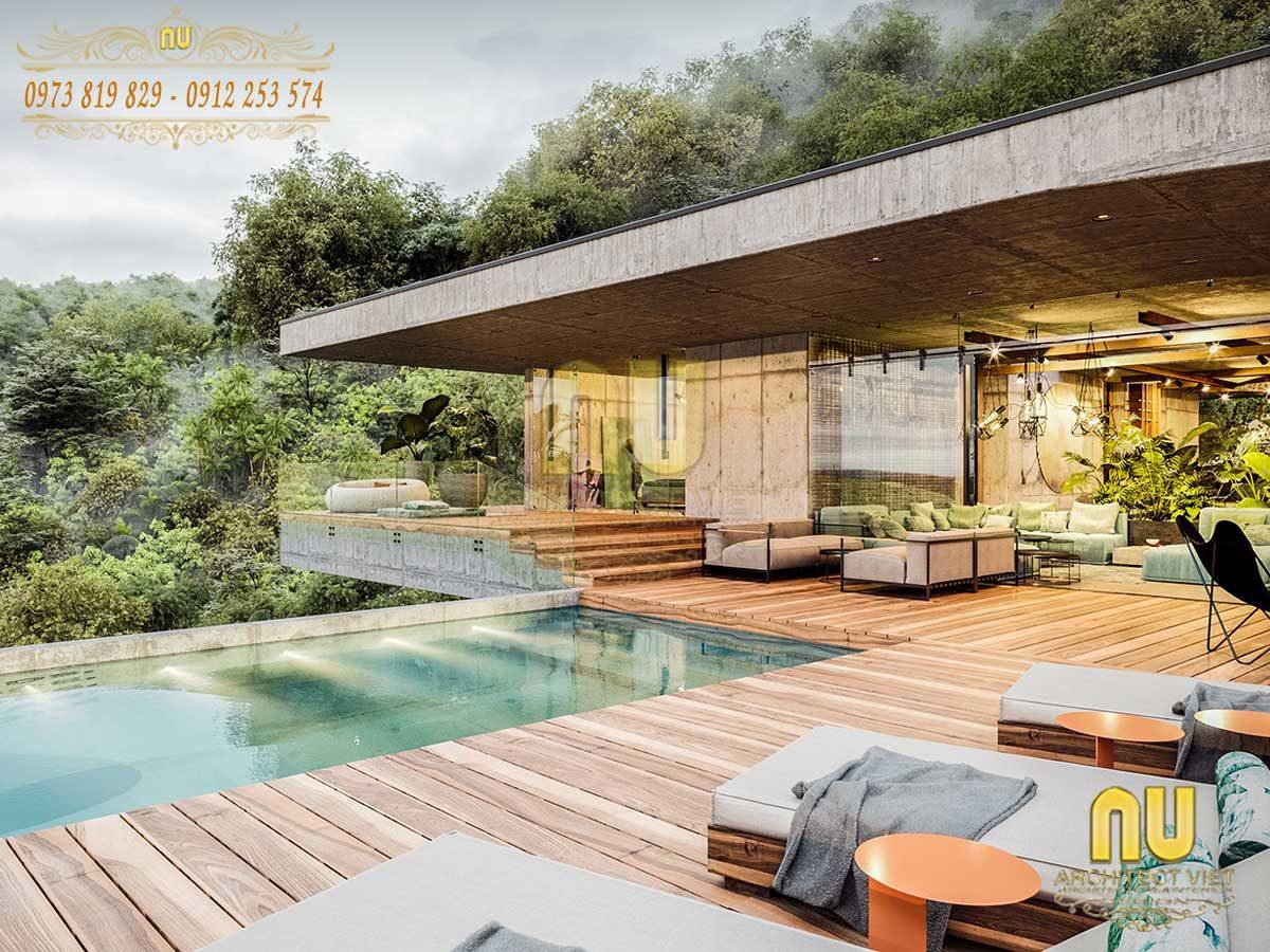 20+ Mẫu thiết kế biệt thự 1 tầng hiện đại đáng để chi tiền nhất hiện nay