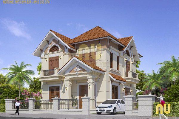 15+ Mẫu thiết kế biệt thự tại Hà Nội được yêu thích nhất 2019