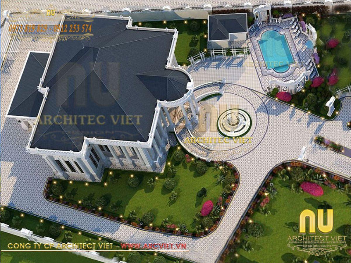 Thiết kế biệt thự tại Hà Nội – khẳng định đẳng cấp chủ quyền